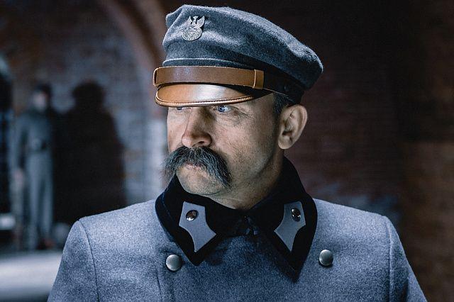 Borys Szyc w roli Józefa Piłsudskiego, fot. Jarosław Sosiński/NEXT FILM/Studio Filmowe Kadr