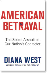 """American Betrayal"" by Diana West, cover