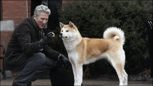 Richard Gere i Hachiko
