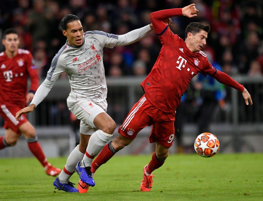 1daf1e46d Nie zabrakło emocji i sensacji. Robert Lewandowski bez bramki w meczu z  Liverpoolem. Fot. PAP/EPA
