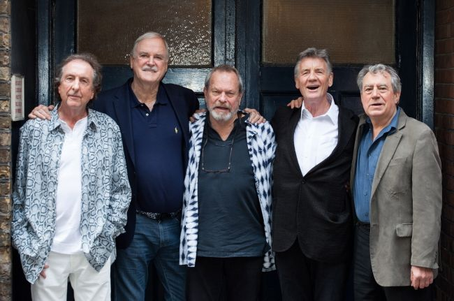 Eric Idle, John Cleese, Terry Gilliam, Michael Palin, Terry Jones, Monty Python