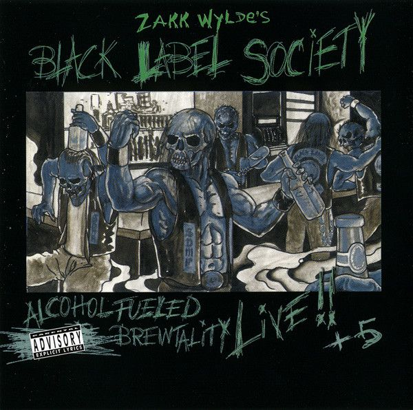 Black Label Society: Alcohol Fueled Brewtality Live!! +5 (2001) - Recenzja