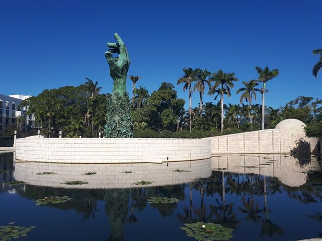 Holocaust Memorial w Miami Beach. Fot. Bogna Janke