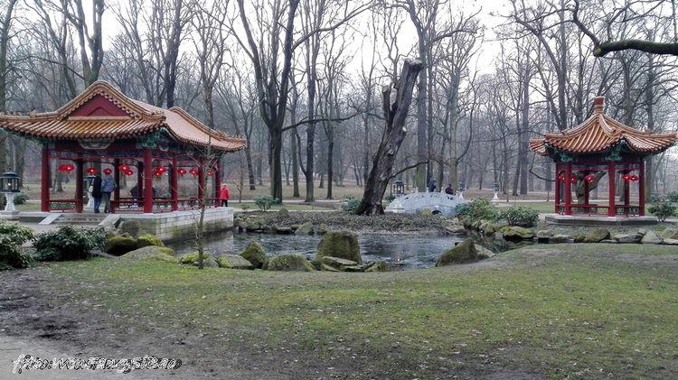 Ogród Chiński W łazienkach Królewskich Blog Wen Fang Si Bao
