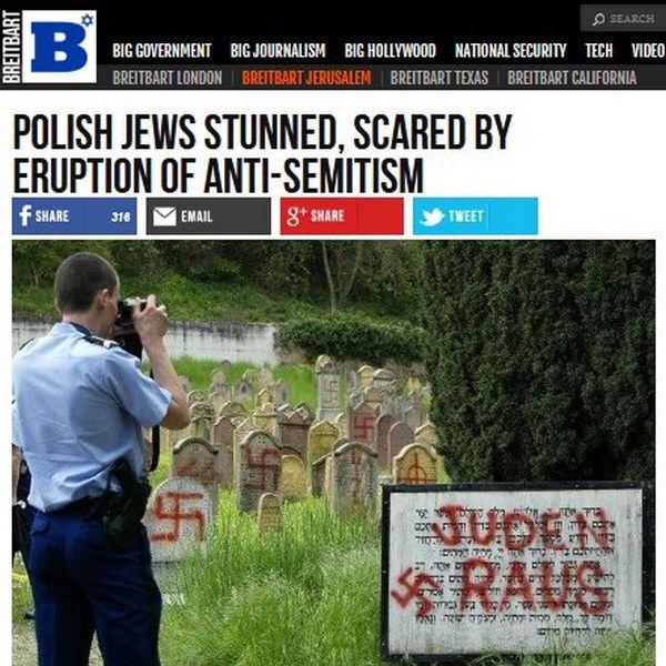 Znalezione obrazy dla zapytania zdjęcie francuskiego cmentarza żydowskiego ze swastykami na nagrobkach