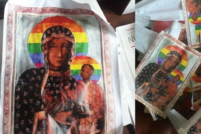 Profanacja Obrazu Matki Bożej Częstochowskiej W Płocku