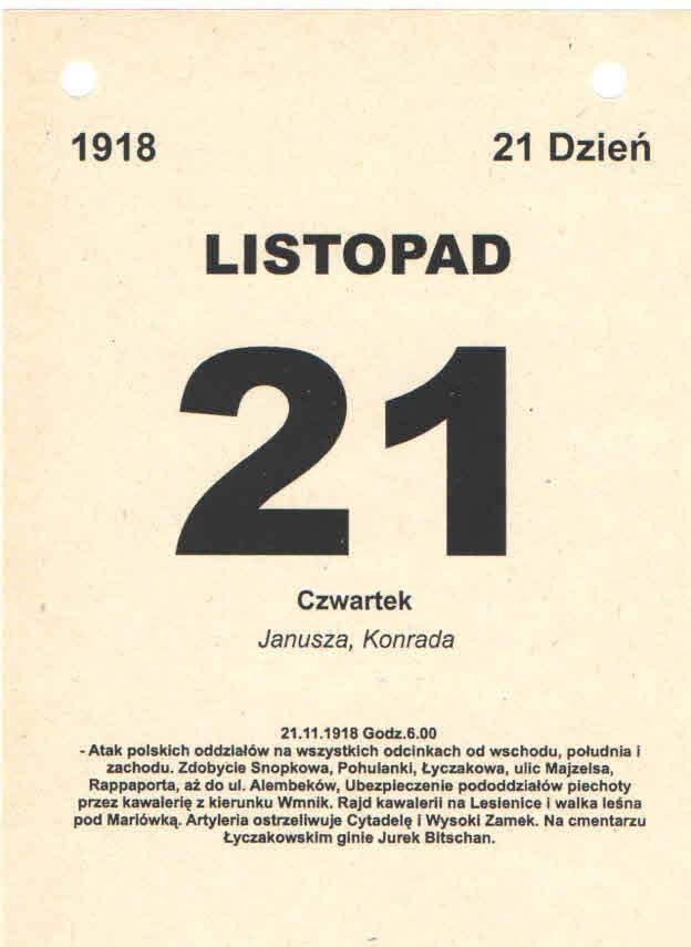 Powstanie Orląt Lwowskich Dzień 21 Orlątko Jurek