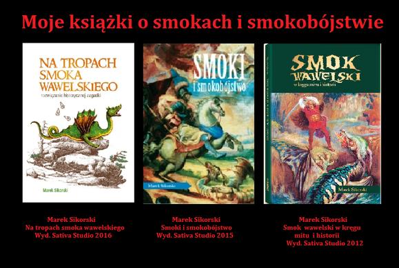 Moje ksiązki o smokach