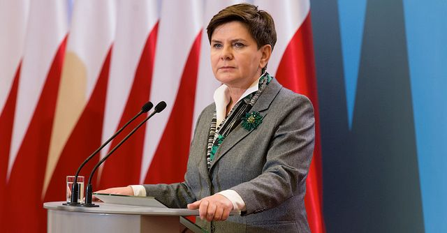 Beata Szydło. fot. Flickr