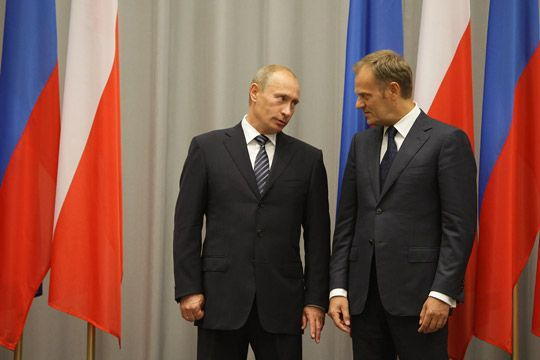 Władimir Putin i Donald Tusk. Fot. archive.government.ru