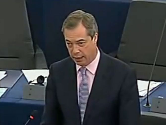 Nigel Farage by EKiP