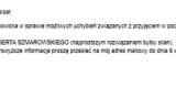 Wiadomość elektroniczna nadana przez GKR NSZZ FSG.