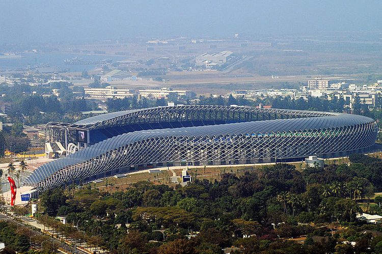 Stadion Narodowy w Kaohsiung. Fot. Peellden. Creative Commons Attribution-Share Alike 3.0 Unported license, Wikimedia Commons.
