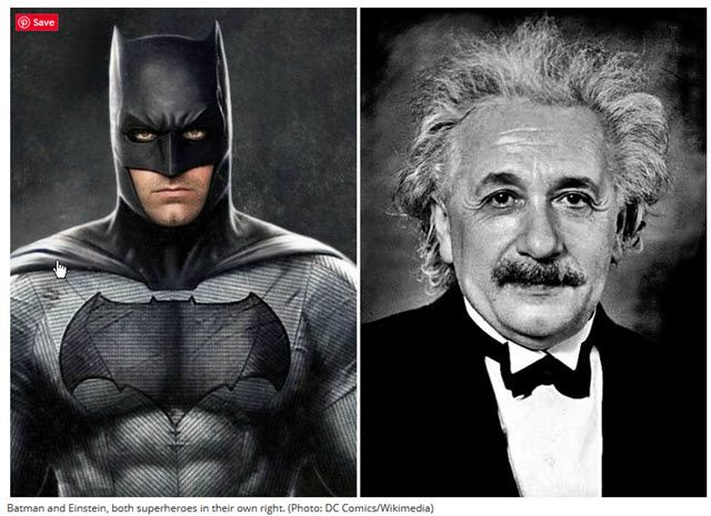 Einstein i Batman