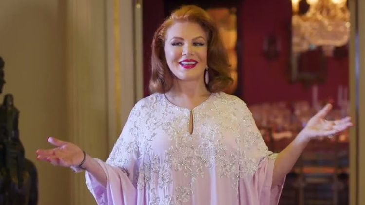 Georgette Mosbacher fot. YouTube