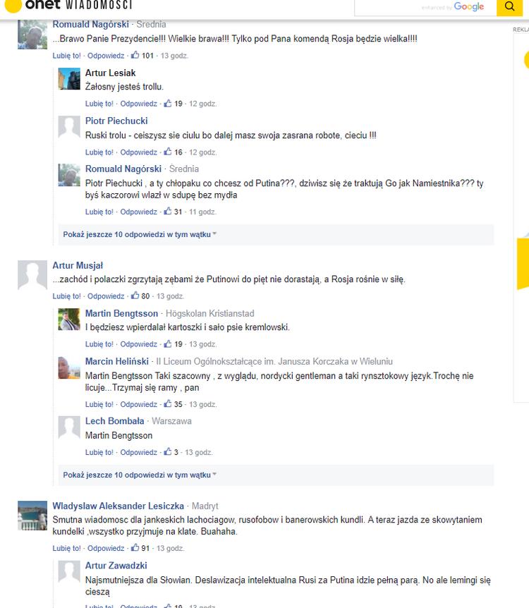 Fot ekranu: Romuald Kałwa