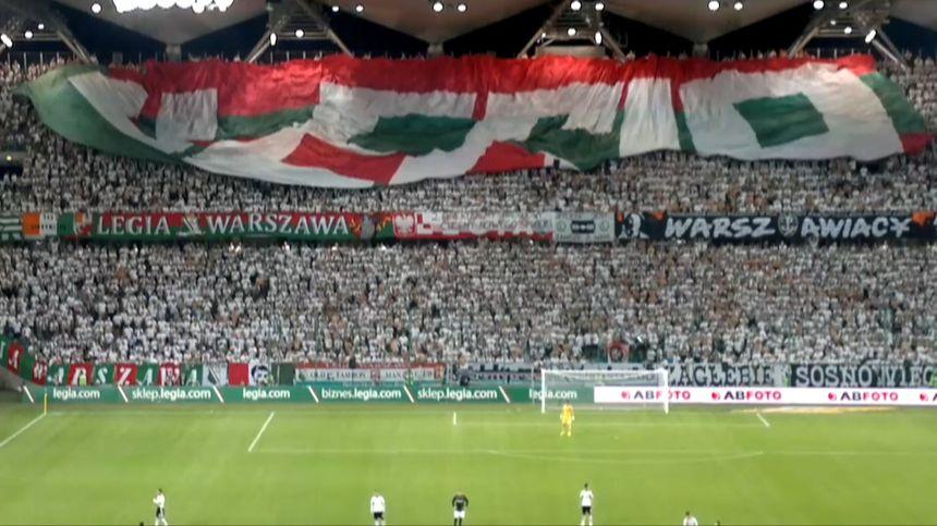 Chwalebne Mecz Legia Warszawa-Real Madryt bez kibiców.UEFA podtrzymuje karę KK76