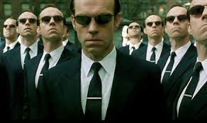 Agent Smith.... Źródło Internet